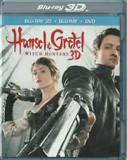 Hansel  Gretel: Witch Hunters 3D (Blu-ray/DVD, 2013, 3-Disc Set)  LCM2