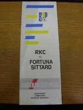 25/08/1991 RKC Waalwijk v Fortuna Sittard  . Thanks for viewing our item, buy wi