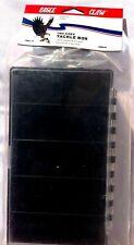 Eagle Claw Black Utility Box 2 Sided Box 1 Side 5 1 Side 10 Tackle Case Storage