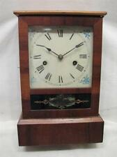 Antique Wood Case Shelf/Mantle Chime Clock