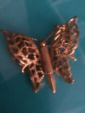BUFFY The Vampire Slayer Prop Screen Used Butterfly Gold Broach COA