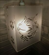 lampshade light shade CAT TRIBAL PAWS STRIKING CAT LOVERS CATS BENGAL