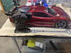 Traxxas XO-1 Rare maroon body and Parts...With manuals