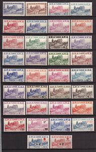 Tunisie - Amphithéâtre -  Lot de 34 timbres neufs **  - cote 52,2 €
