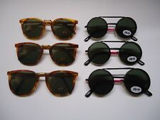 LOT of (6) Retro style FASHION SUNGLASSES for KIDS new FLIPS UP & DOWN 80s - 90s