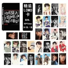 New 30pcs Set Kpop SUPER JUNIOR Siwon DongHae Ryeowook Lomo Card