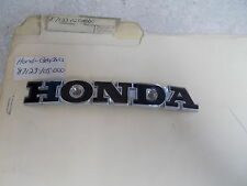 NOS OEM Honda Fuel Tank Emblem B 1969-1972 CL100 CB175 SL350 CB350 87123-105-000