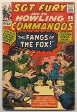 Sgt. Fury & His Howling Commandos #6 (1963) Good/Very Good (3.0) ~ Marvel