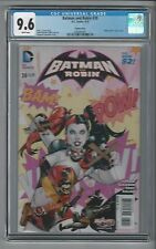 Batman and Robin #39 Harley Quinn Cover Variant CGC 9.6 NM/M DC Comics New 52