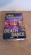 Death Dance Linda Fairstein Hardcover Book (Large Print) Mystery