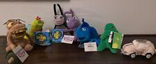 Disney Store Beanie Babies - Bugs Life, Herbie the Love Bug and Flubber
