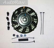 7''12V Slim Radiator Cooling Thermo Fan & Mounting Kit MGA/MGB GT 7 inch 12 Volt