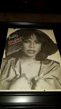 Betty Wright What Are You Going To Do With It Rare Promo Poster Ad Framed!
