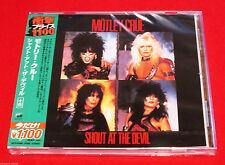 MOTLEY CRUE - SHOUT AT THE DEVIL - JAPAN JEWEL CASE CD - OOP UICY-91890