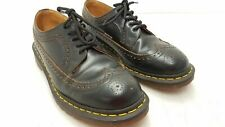 Doc Martens Men's Black Leather Oxfords Sz 10