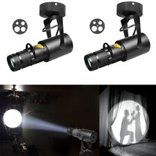 Stage light Spotlight Beam Pinspot  15W LED White Follow Pin Spot DJ Disc 2 Pack