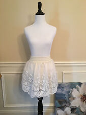 Korean Japanese fashion flower crochet vivi skirt all season