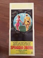 LOCANDINA, S11,1966,Spiaggia libera,Girolami,LUPO,MONDAINI,TIERI,BOSCHERO,