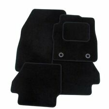 FORD MONDEO MK3 2000-2006 TAILORED CAR FLOOR MATS- BLACK WITH BLACK TRIM