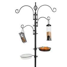 Station Bird Feeding Bird Feeder Pole Hangers Plant Stand Kit Patio Backyard