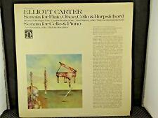 Elliott Carter – Sonata For Flute, Oboe, Cello & Harpsichord / Sonata For Cello