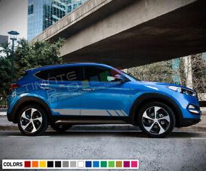Sticker Stripe for Hyundai Tucson 2014 2015 2016 2017 2018 SUV LED Xenon light