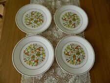 Corelle Indian Summer Set of 4 Luncheon Plates - VGUC