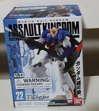 BANDAI MOBILE SUIT GUNDAM ASSAULT KINGDOM FIGURINE! NEW MSZ-006 Z GUNDAM IN BOX!