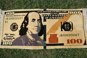 STUNNING HAND KNOTTED US DOLLAR CARPET FOR WALL HANGING,BEAUTIFUL HANDMADE DOLLA