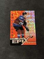 1997-98 PINNACLE EPIX JOE SAKIC MOMENT ORANGE #E-3