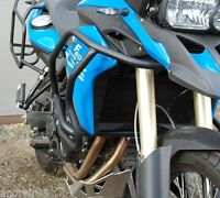 BMW F800GS 2013 Engine Radiator Guard Crash Bars Black Mmoto BMW0127