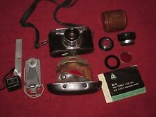 VINTAGE SEARS TOWER 57-A RANGEFINDER CAMERA AND MORE ESTATE FIND! UNTESTED!