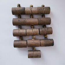 "Lot of 13 Copper Coupling With Drain 3/4"" Copper to Copper New Old Stock"