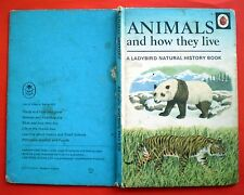 Animals And How They Live Ladybird vintage book nature survival mammals 8-12 yrs
