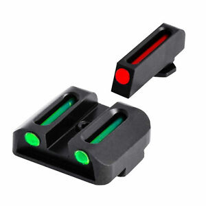 TruGlo Fiber Optic Handgun Glock Pistol Sight Accessories, Glock 42 and Glock 43