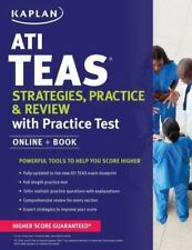 ATI Teas Strategies, Practice & Review with 2 Practice Tests: Online + Book (Pap