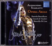 Daniela BARCELLONA Signed Alessandra SCARLATTI Opera Arias Telemaco Griselda CD