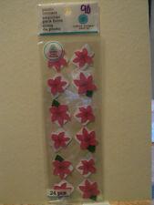 Martha Stewart Rosa Fiore angoli foto adesivi NUOVO con confezione * Look *