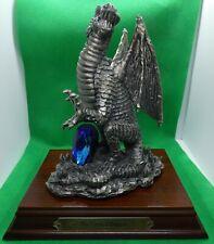 Myth & Magic The Crystal Dragon - Large Figurine Tudor Mint