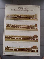 END OF YEAR SALE - PHAR LAP - THE FLEMINGTON ONSLAUGHT 1930 - POSTER
