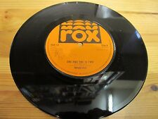 "ROX 10 UK 7"" 45RPM 1979 REVOLVER ""ONE AND ONE IS TWO"" EX"
