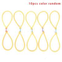 10pcs Outdoor Elastic Bungee Rubber Band For Fishing Shooting Catapult ReplaceWR