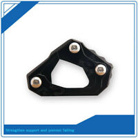 For Yamaha YZF R25/YZF R3/MT-25/MT-03 CNC Side Kickstand Stand Extension Plate