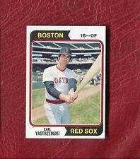 1974 TOPPS #280 CARL YASTRZEMSKI (HOF) RED SOX SET BREAK NMMT+ / MINT PACK FRESH