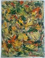 Jacob Semiatin (NY, Hungary, Ireland 1915-2003) Abstract O/B, Semiatin Estate