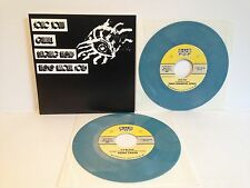 "V/A SONIC YOUTH Laughing Hyenas 2x 7"" Alice Cooper Sub Pop BLUE-GREY VINYL"