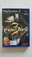 Project Zero 3 The Tormented PS2 VGC PAL