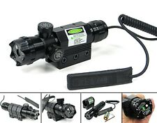 532nm Green Laser Dot Sight 20mm Rail Mount & Remote Control For Rifle Hunting