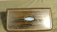 1983 Ford Country Squire Horn Button Center Trim Faux Wood Grain