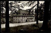 Bad Orb Spessart alte AK Hessen ~1950/60 Partie am Waldhotel Wegscheide